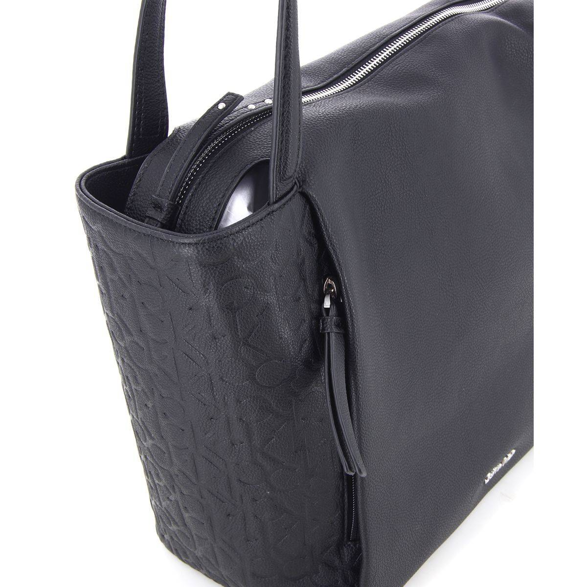 calvin klein sac main misha femme large tote k60k602120. Black Bedroom Furniture Sets. Home Design Ideas