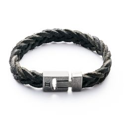 Gemini - Bracelet Special Leather Black (s9)