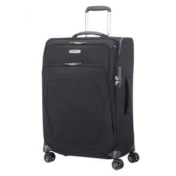 Samsonite - Valise souple taille moyenne extensible 4 roues 67cm 82/92 litres Spark SNG (87605)