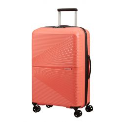 American Tourister - Valise rigide taille moyenne 67cm 4 doubles roues 67 litres Airconic (128187)